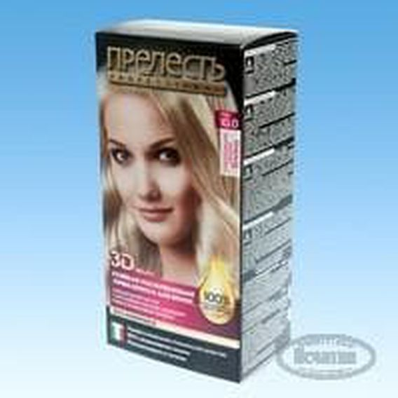 Sample packaging for Hair Dye